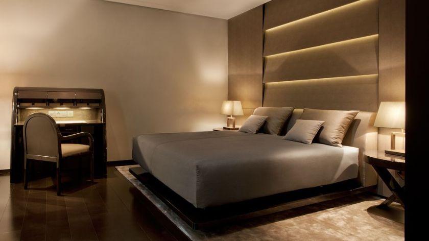 Armani Hotel Milano, interior design di una stanza