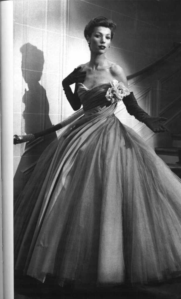 Christian Dior Abito da sera anni '50