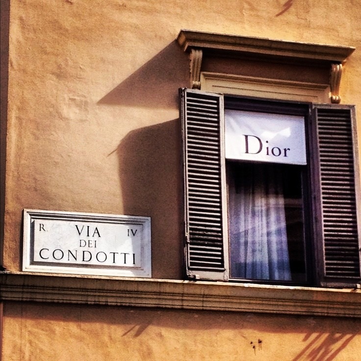 Dior Boutique Dior a Roma