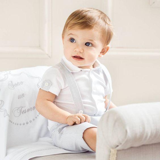 Roupas para batizado Infantil de Menino 2022