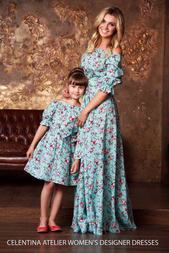 Moda Mãe e Filha Vestido