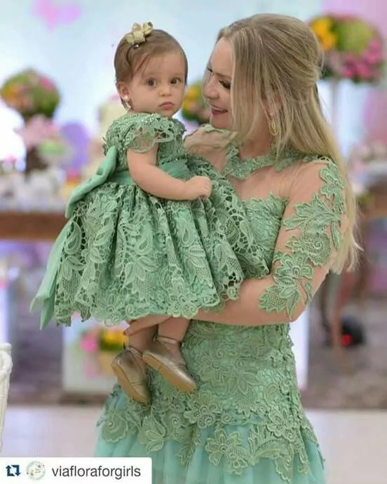 Look Mãe e Filha 2020 Festa