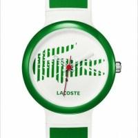 Yeşil ve beyaz bayan kol saatleri