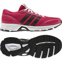Pembe renkli siyah-beyaz adidas bayan ayakkabı