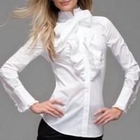 Fransız leydileri tarzında bayan gömlek modelleri