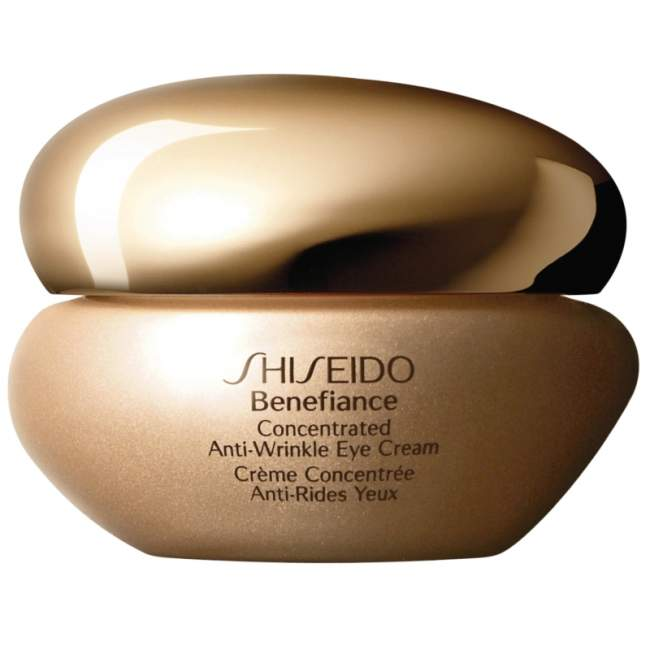 This image has an empty alt attribute; its file name is shiseido-benefiance-concentrated-antiwrinkle-eye-cream.jpg
