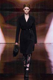 Auguste Abeliunaite - Donna Karan 2014 Sonbahar-Kış Koleksiyonu
