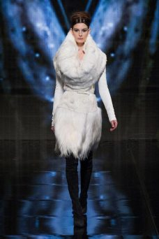 Ophelie Guillermand - Donna Karan 2014 Sonbahar-Kış Koleksiyonu