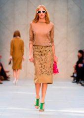 Marique Schimmel - Burberry 2014 İlkbahar-Yaz