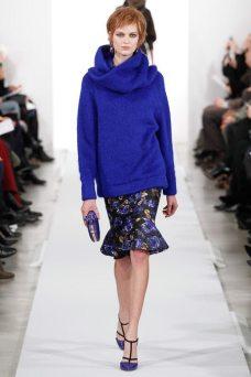 Bette Franke - Oscar de la Renta 2014 Sonbahar-Kış Koleksiyonu