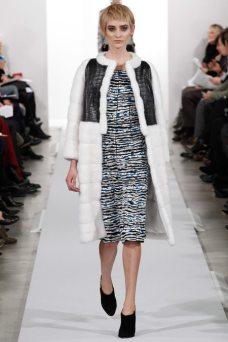 Carolina Thaler - Oscar de la Renta 2014 Sonbahar-Kış Koleksiyonu