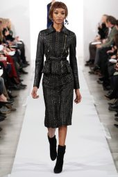Jourdan Dunn - Oscar de la Renta 2014 Sonbahar-Kış Koleksiyonu