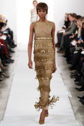 Maria Borges - Oscar de la Renta 2014 Sonbahar-Kış Koleksiyonu