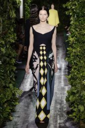 Katlin Aas - Valentino 2014 Sonbahar Haute Couture