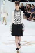 Waleska Gorczevski - Chanel Fall 2014 Couture