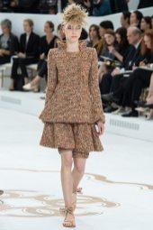 Laura Schellenberg - Chanel Fall 2014 Couture