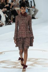 Grace Mahary - Chanel Fall 2014 Couture