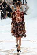 Malaika Firth - Chanel Fall 2014 Couture
