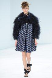 Emma Oak - Chanel Fall 2014 Couture