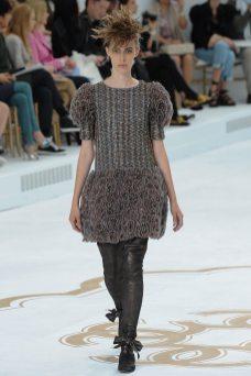 Georgia Hilmer - Chanel Fall 2014 Couture