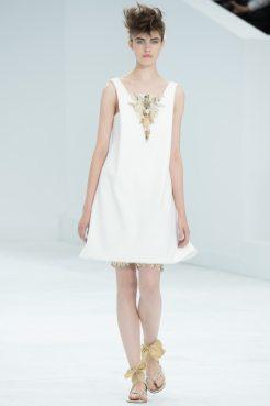 Dasha Sarakhanova - Chanel Fall 2014 Couture