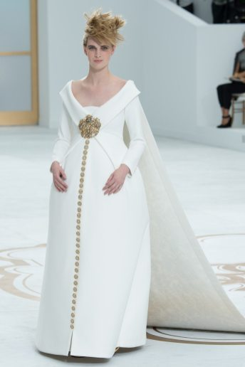 Ashleigh Good - Chanel Fall 2014 Couture