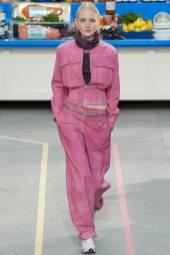 Maja Salamon - Chanel Fall 2014