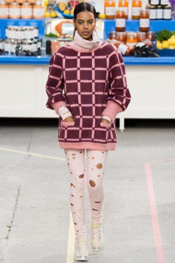 Grace Mahary - Chanel Fall 2014