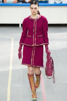 Magda Laguinge - Chanel Fall 2014