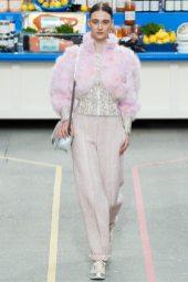 Evelina Szamszoncsik - Chanel Fall 2014