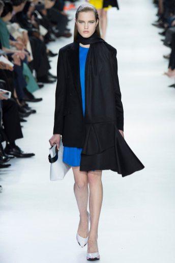 Milana Kruz - Christian Dior Fall 2014