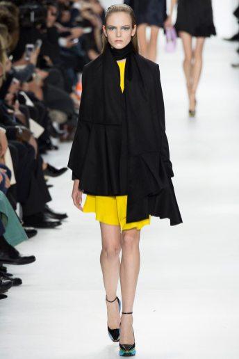 Jessica Bergs - Christian Dior Fall 2014