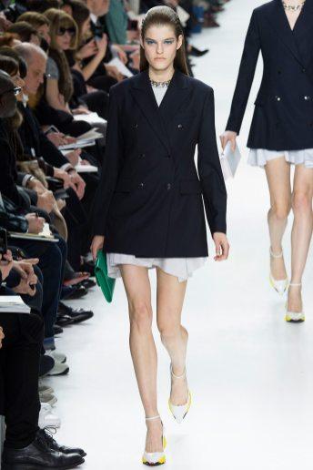 Kia Low - Christian Dior Fall 2014