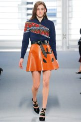 Daphne Simons - Louis Vuitton Fall 2014