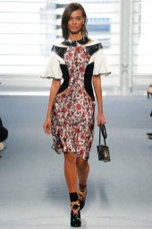 Liya Kebede - Louis Vuitton Fall 2014