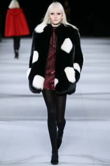Maja Salamon - Saint Laurent Fall 2014