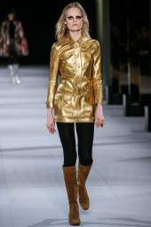 Hanne Gaby Odiele - Saint Laurent Fall 2014