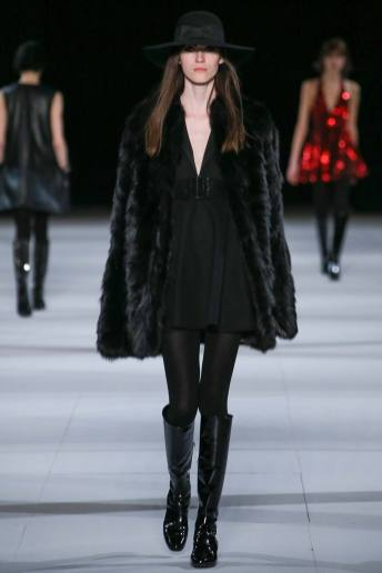 Helena Severin - Saint Laurent Fall 2014