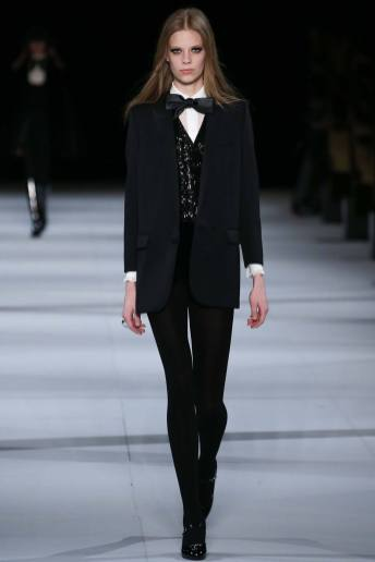 Lexi Boling - Saint Laurent Fall 2014