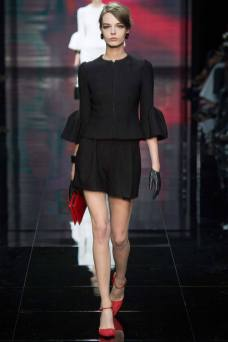 Mina Cvetkovic - Armani Privé Fall 2014 Couture