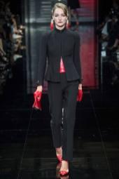 Josephine Le Tutour - Armani Privé Fall 2014 Couture