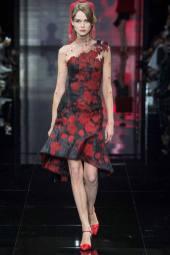 Veronika Pospisilova - Armani Privé Fall 2014 Couture