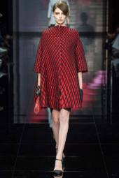 Auguste Abeliunaite - Armani Privé Fall 2014 Couture