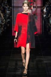 Valery Kaufman - Armani Privé Fall 2014 Couture