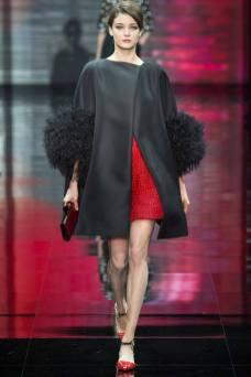 Diana Moldovan - Armani Privé Fall 2014 Couture