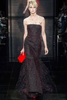 Anmari Botha - Armani Privé Fall 2014 Couture
