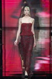 Elena Egorova - Armani Privé Fall 2014 Couture