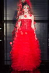 Nastya Sten - Armani Privé Fall 2014 Couture