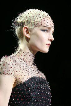 Maja Salamon - Armani Privé Fall 2014 Couture