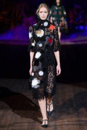 Anna Ewers - Dolce & Gabbana 2014 Sonbahar-Kış Koleksiyonu